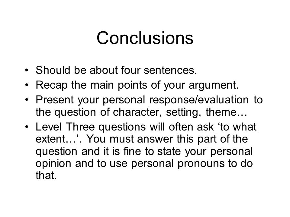 Personal Opinion Essay