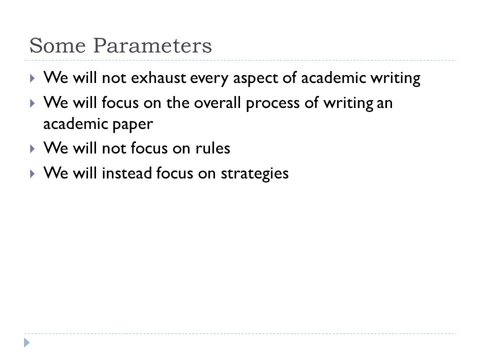 Academic Writing Process Essay   Essay