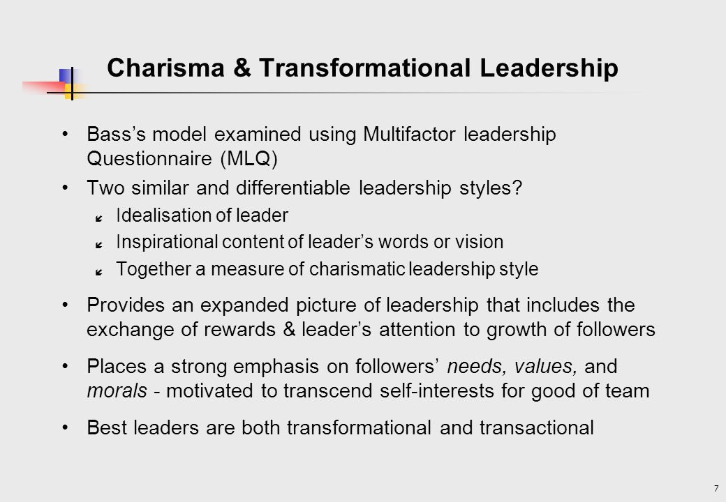 examine what charismatic leadership is and Charismatic business leaders are we describe the qualities and values that differentiate ethical and unethical charismatic leaders we also examine the.