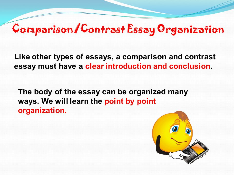 Introduction paragraph: Compare/contrast Essay - YouTube