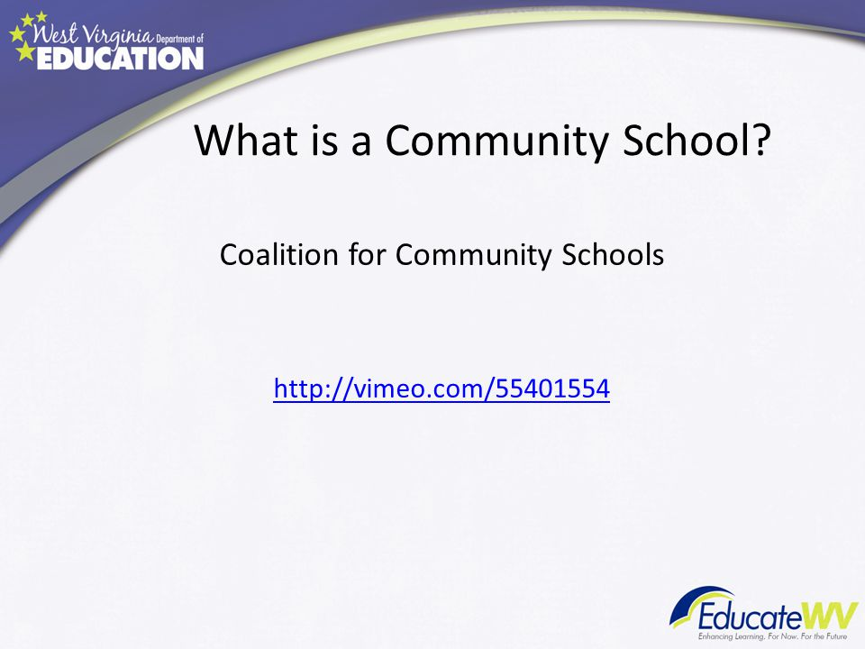 What is a Community School Coalition for Community Schools