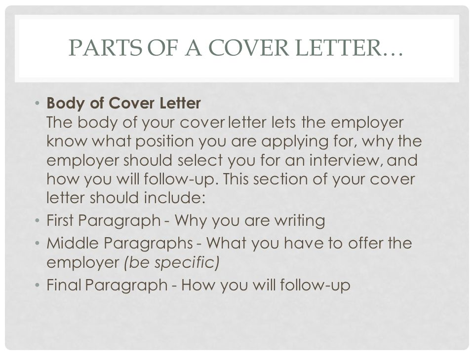 Tips And Instructions Writing A Cover Letter. A Cover Letter Is