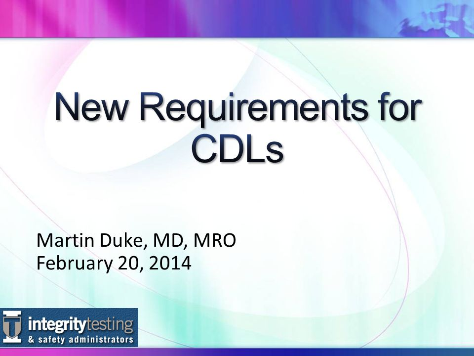 Martin Duke, MD, MRO February 20, 2014