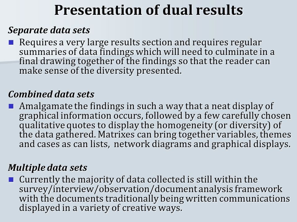 present results section dissertation You need to write a dissertation results and findings section that is a concise and well presented summary of your most relevant present your results in more detail.