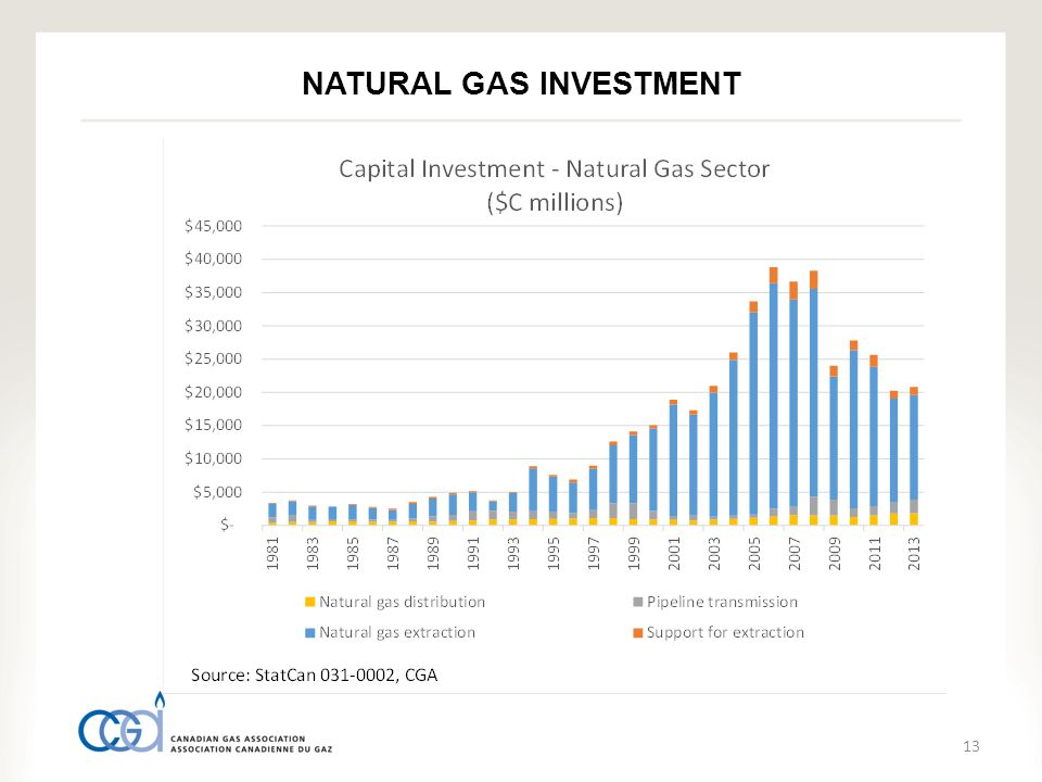 13 NATURAL GAS INVESTMENT
