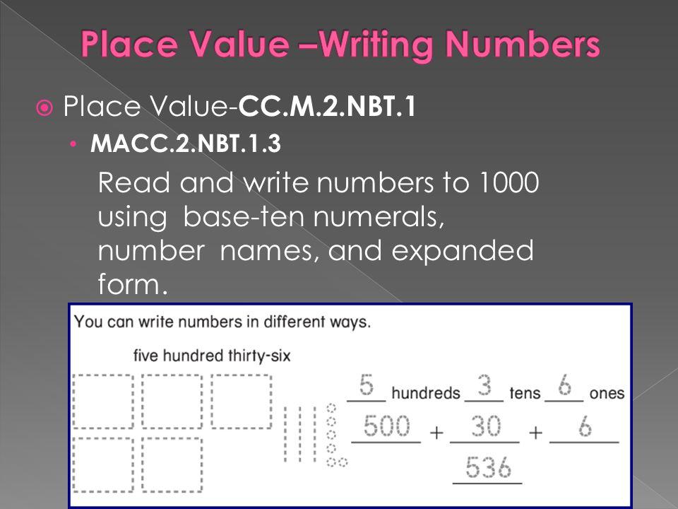 Base Ten Numeral Form Example Solidaphikworks