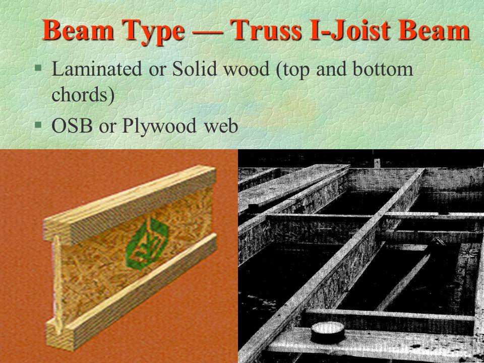 Beam Type — Laminated Veneer Lumber Beam §Laminated Veneer Lumber (LVL) §Made of ultrasonically graded douglas fir veneers with exterior adhesives und