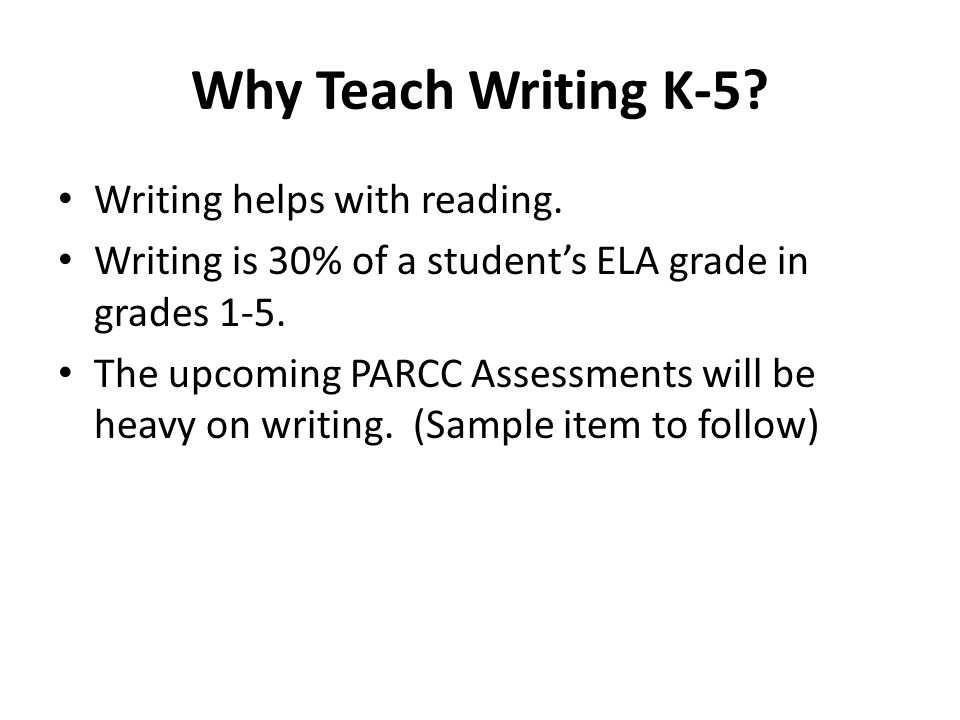 Teaching Students to Write K-5 Susan Dold - ppt download