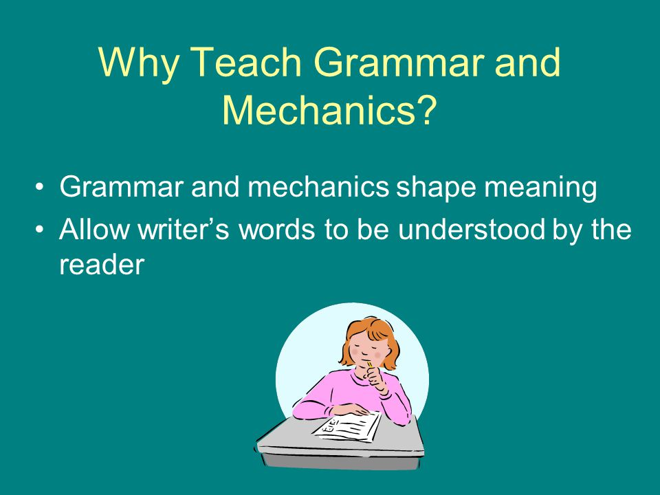 Please revise the following for grammer and mechanics:?