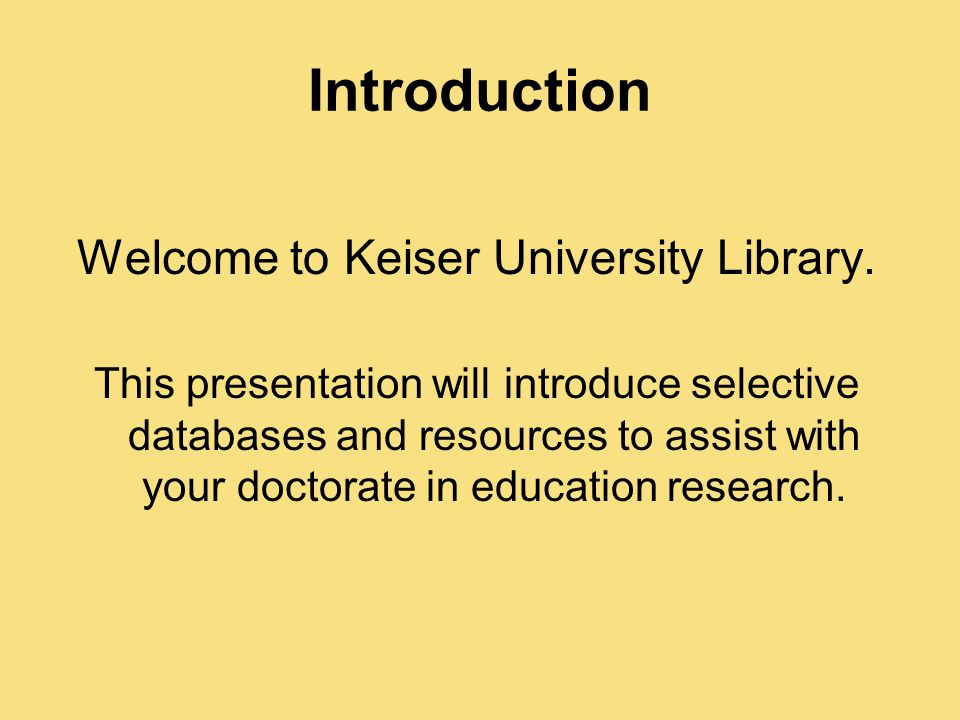 introduction to dissertation writing