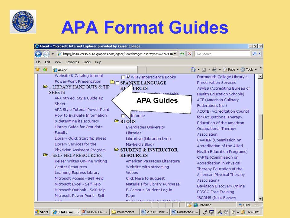 apa formatting guide