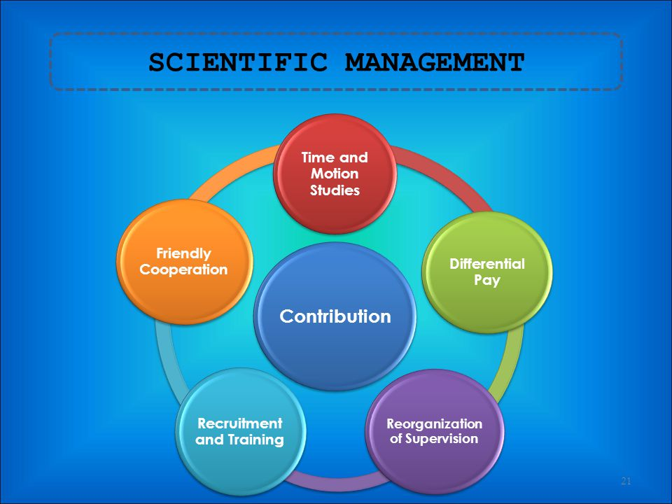 ADMINISTRATIVE MANAGEMENT -PRINCIPLES OF MANAGEMENT- 20 PRINCIPLES OF MANAGEMENT Division of workAuthority DisciplineUnity of Command Unity of Directi