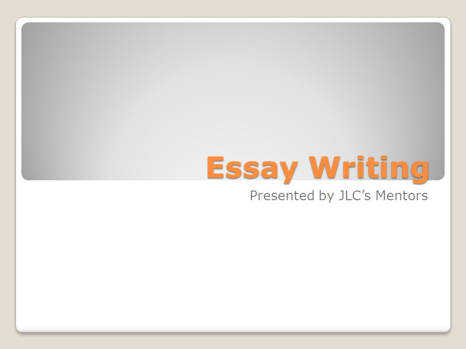 before you write an essay you need to