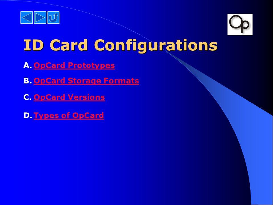 id card formats