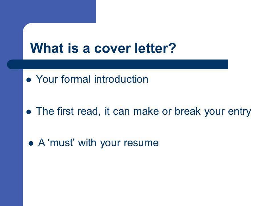 Do employers read cover letter or resume first
