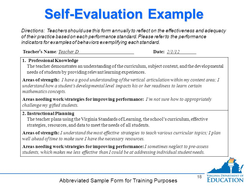 Work Self Evaluation Sample  GetpaidtotakesurveyonlineInfo
