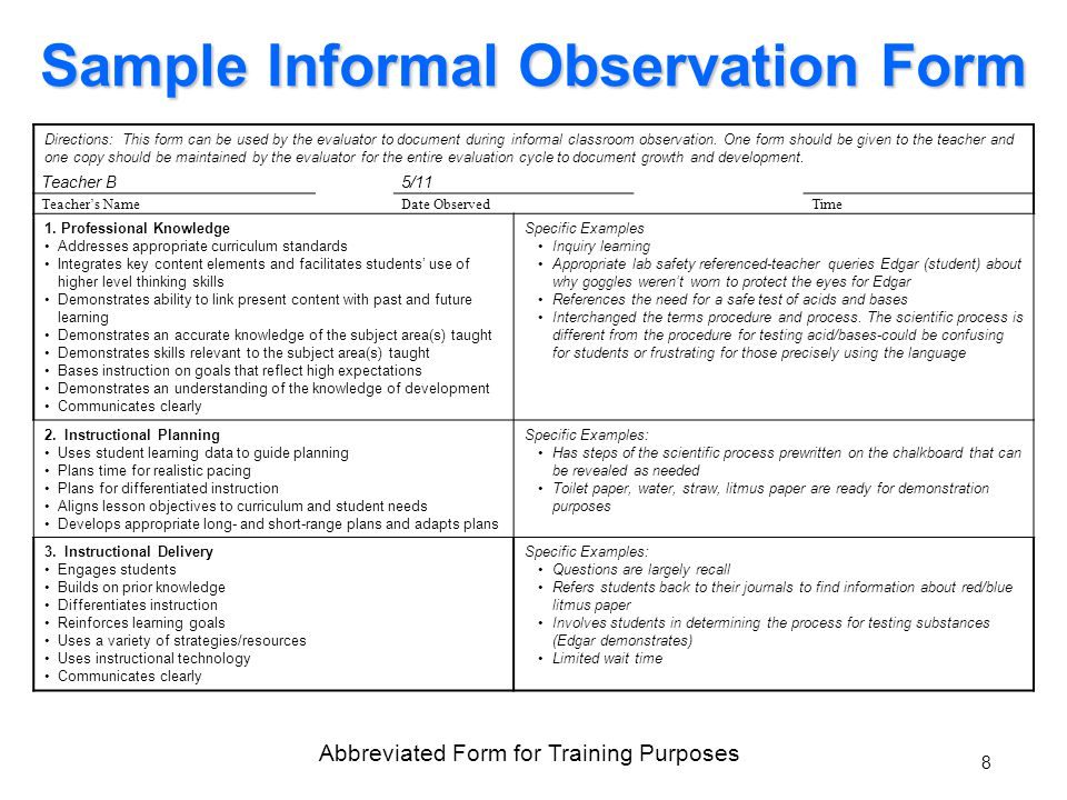 Teacher Performance Evaluation System Data Sources August Ppt Download