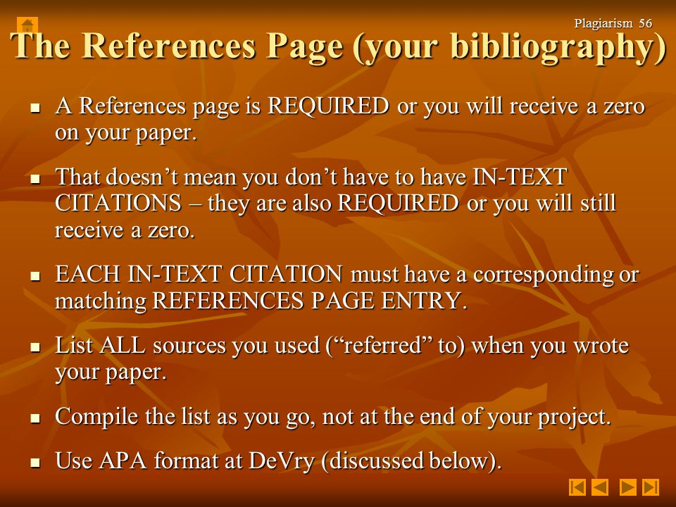 Is a reference page and a bibliography page the same thing?