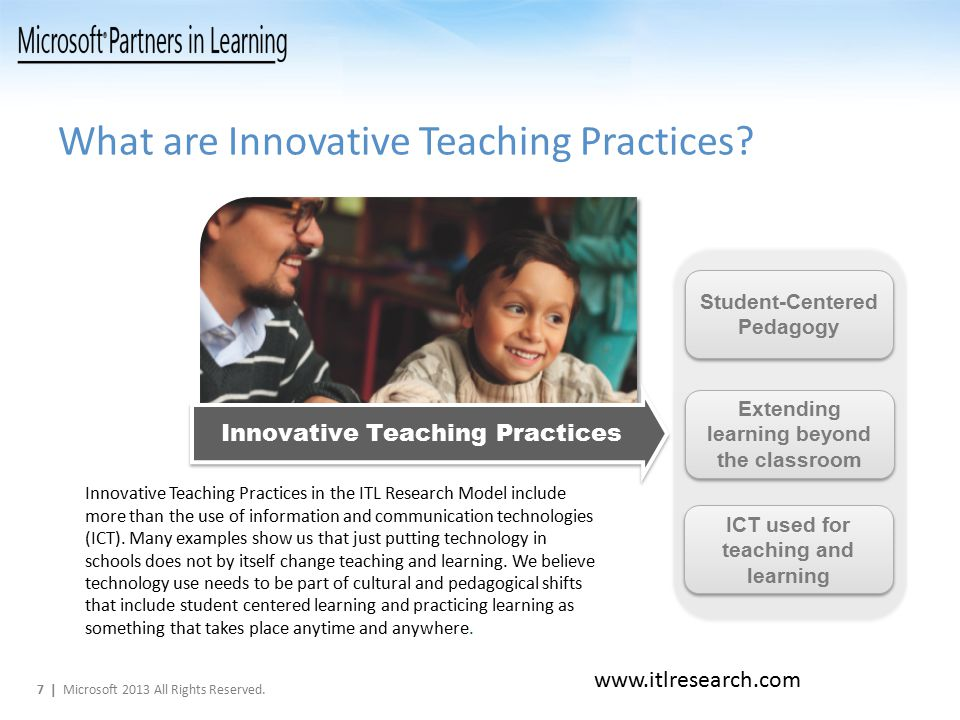What are Innovative Teaching Practices.