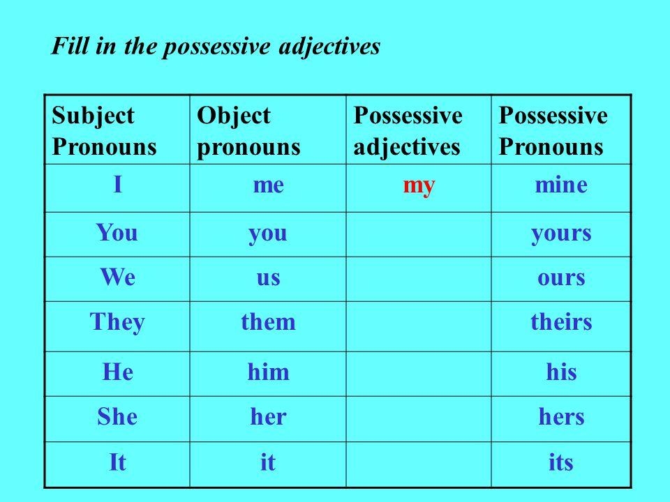 Possessive determiner Wikipedia