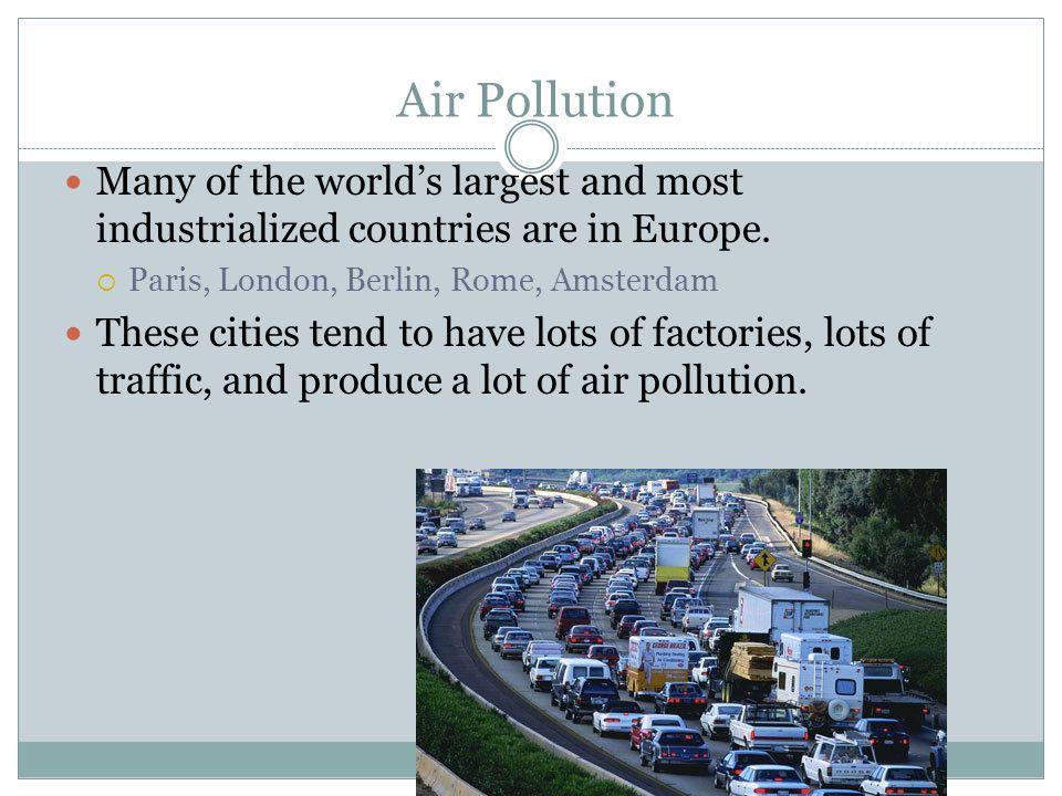 Air pollution! question?