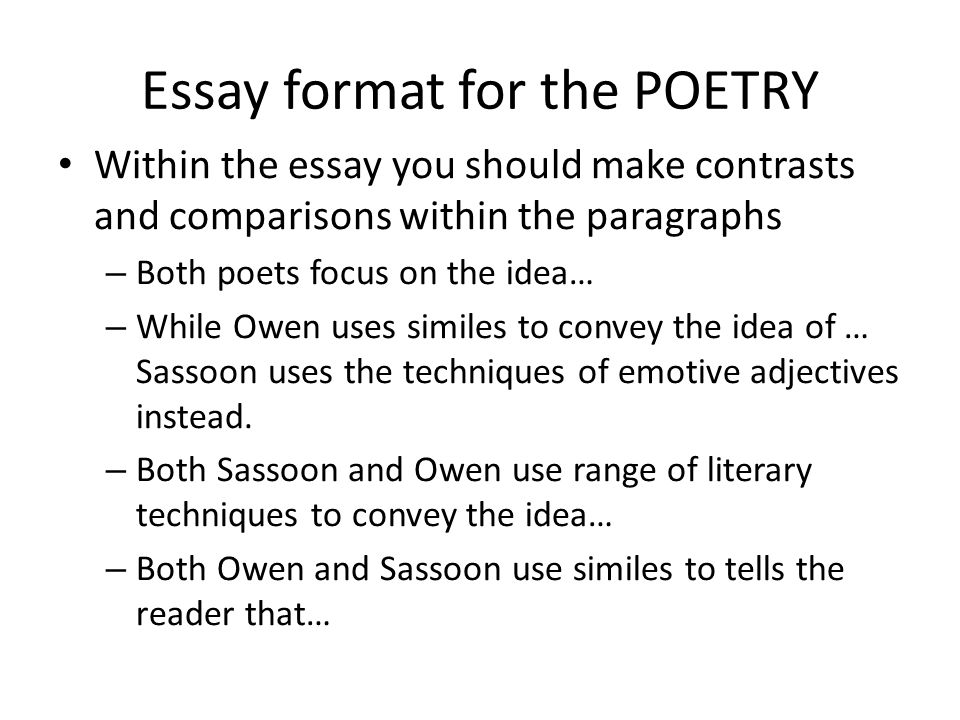 comparative literary essay outline The essay follows the 5 paragraph essay form of an introduction, 3 supporting detail paragraphs, and a conclusion the student is very descriptive in each supporting detail.