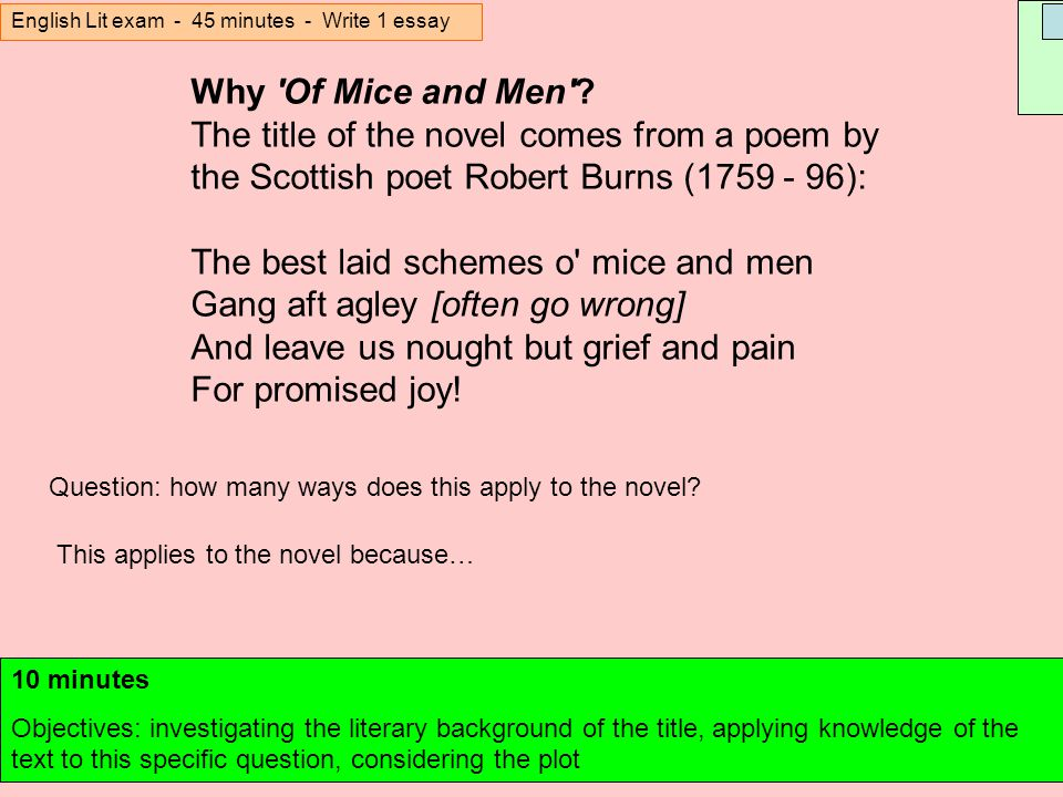 Science And Society Essay Of Mice And Men John Steinbeck Ppt Download Hotcutehentai Tk Of Mice And Men  Quiz Chapters Essays On English Language also Custom Essay Papers Professional Essay Writer Service  Rijschool Frank Driessen  Salie  English Essay Outline Format