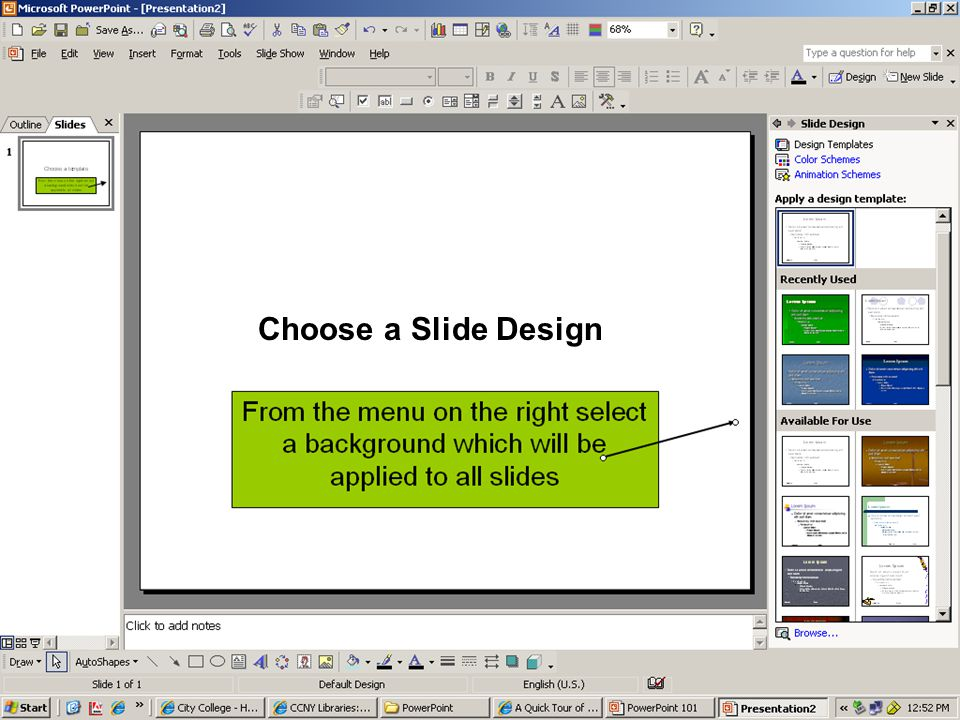 jacqueline a. gill, associate professor powerpoint 101 creating, Presentation templates