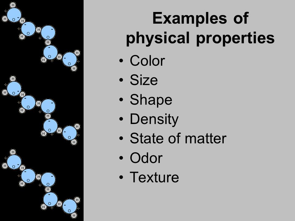 Taks Objective 3 Substances Have Chemical And Physical Properties