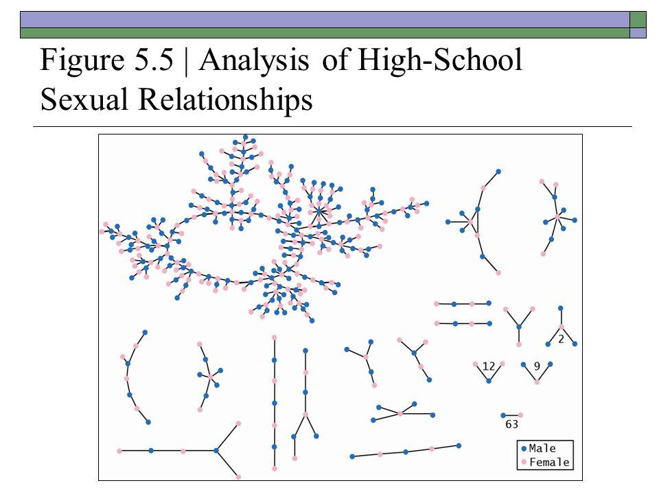 Figure 5.5 | Analysis of High-School Sexual Relationships