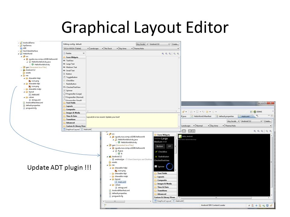 Graphical Layout Editor Update ADT plugin !!!