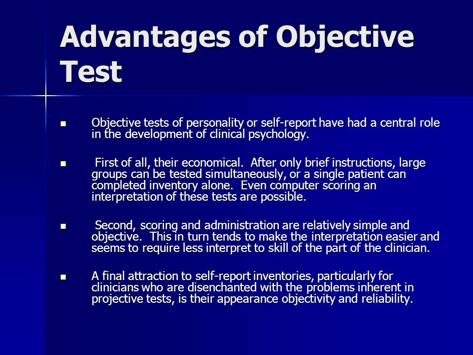 What is the objectivity of a standard research?