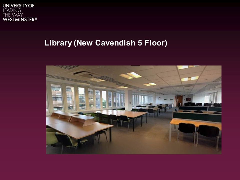 Library (New Cavendish 5 Floor)