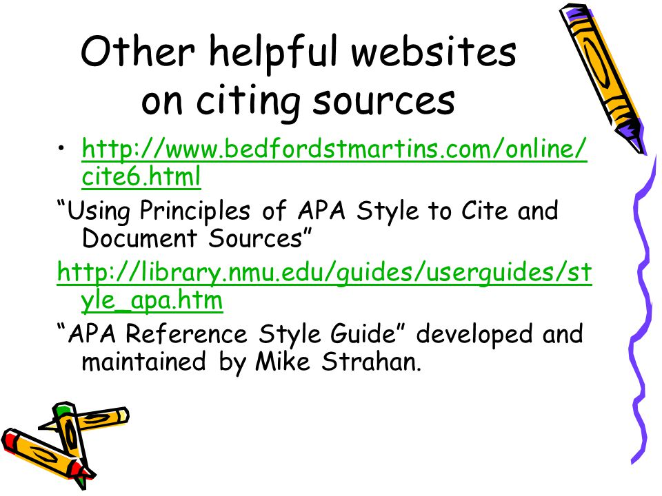 apa reference help Concept a bibliographic citation is a reference to a book, article, web page, or other published itemcitations should supply detail to identify the item uniquely.
