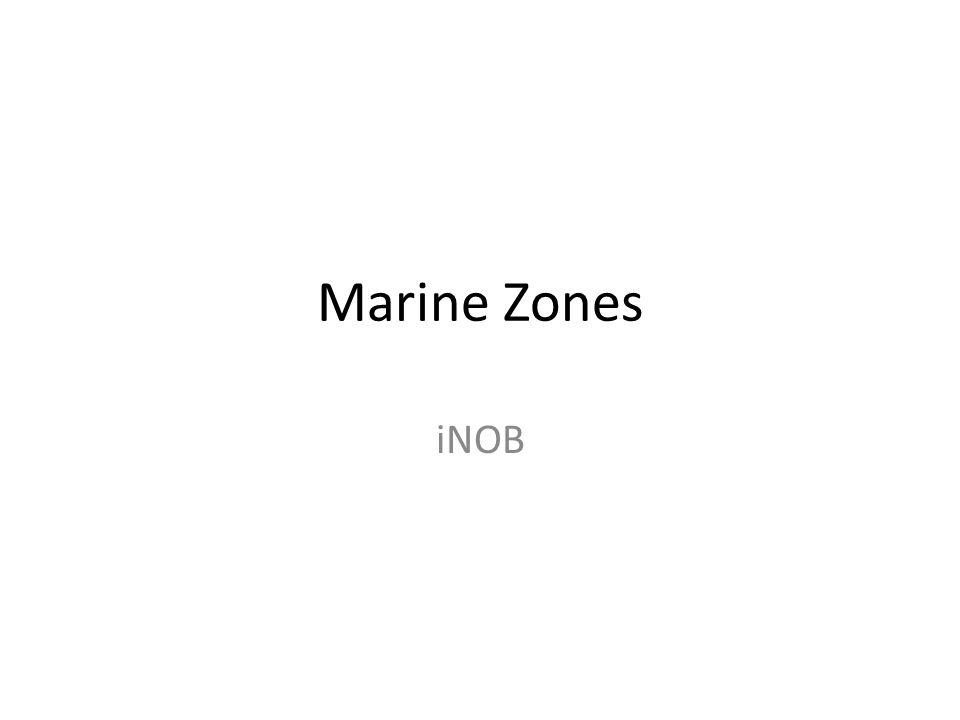 Marine Zones iNOB