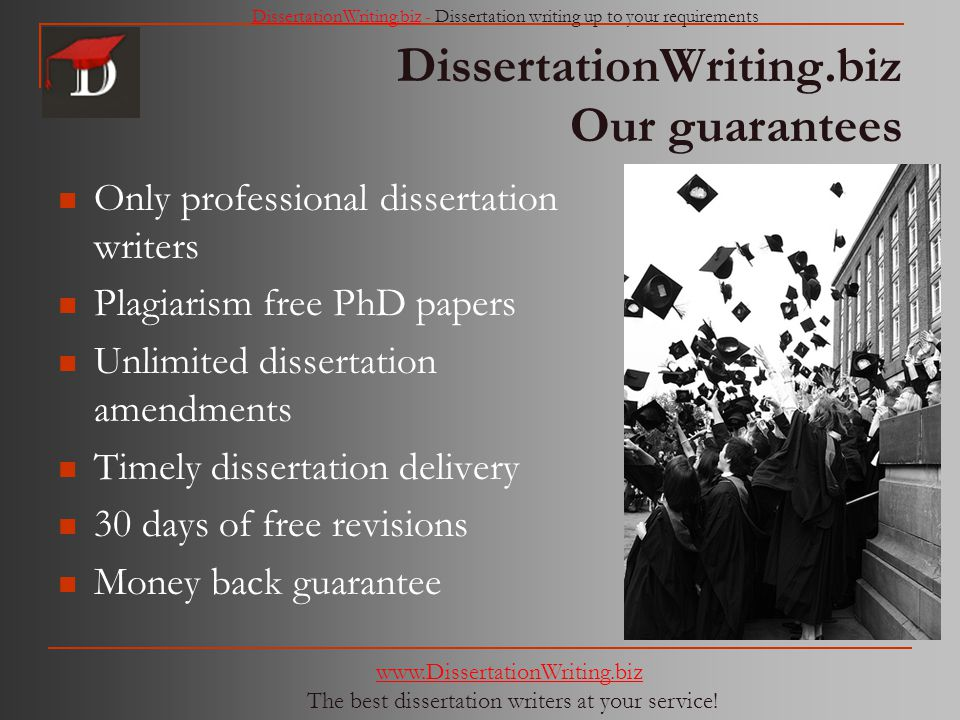 Dissertation Writers