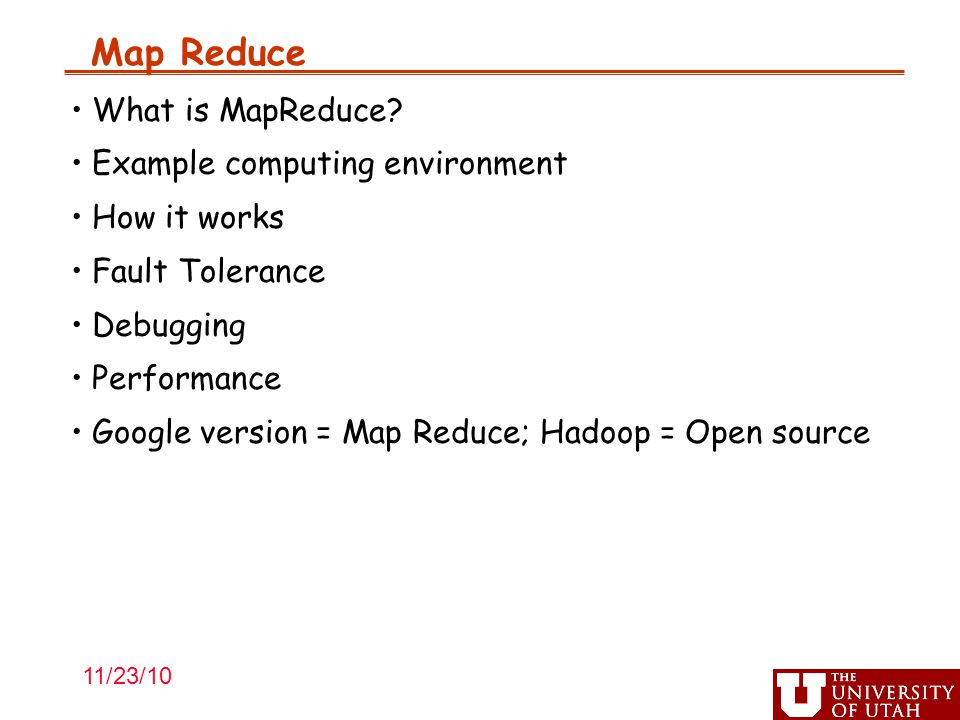 Map Reduce What is MapReduce.