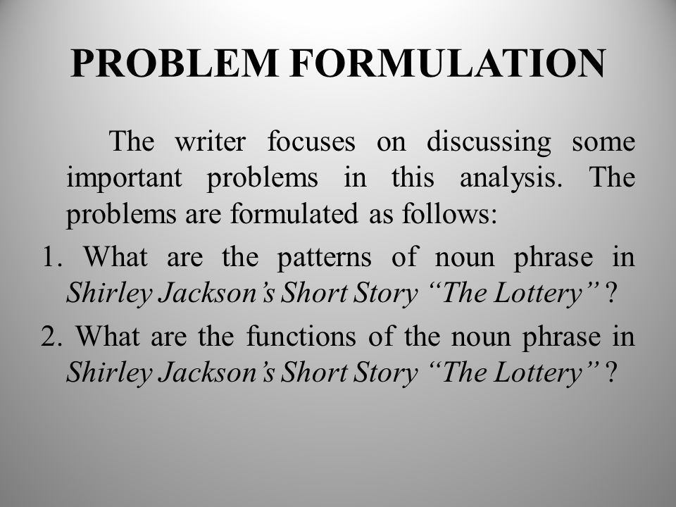 summary of the lottery essay Immediately download the the lottery summary, chapter-by-chapter analysis, book notes, essays, quotes, character descriptions, lesson plans, and more - everything you need for studying or teaching the lottery.