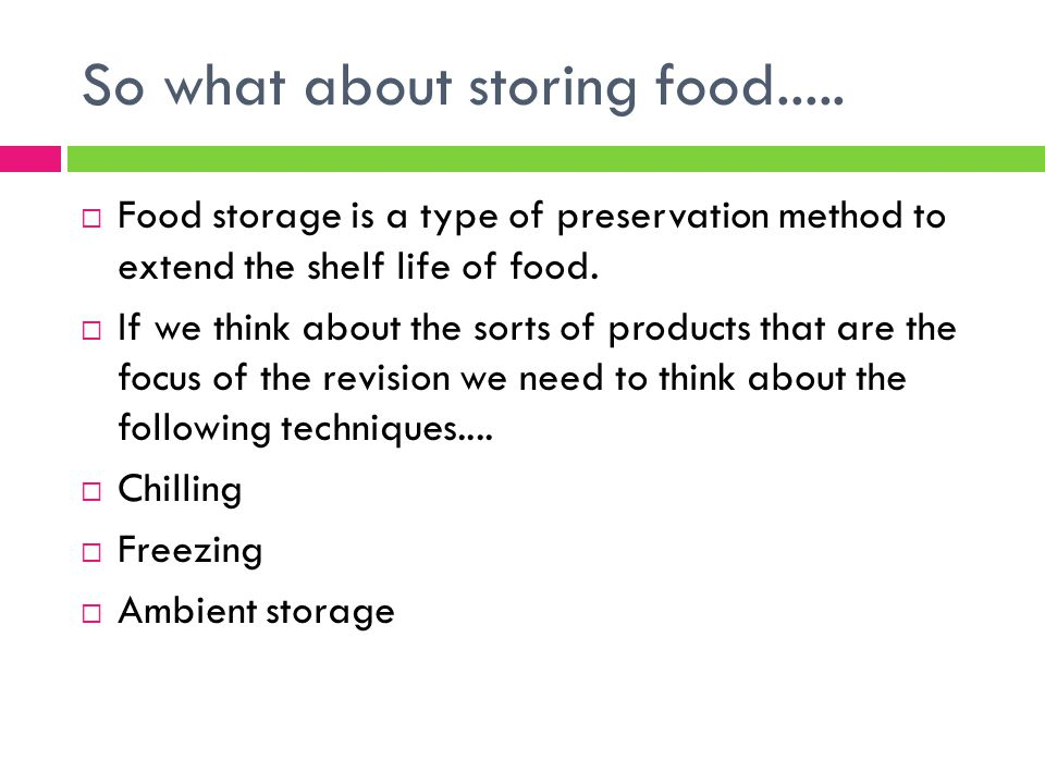 food preservation to extend shelf life Home / food and storage / shelf life: 20 tips to extend the shelf life of your emergency stockpile if you have more tips and tricks on food preservation.