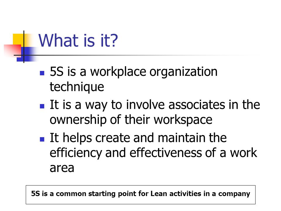 lean training 5s. agenda what is it? what's it for? how does it, Powerpoint templates