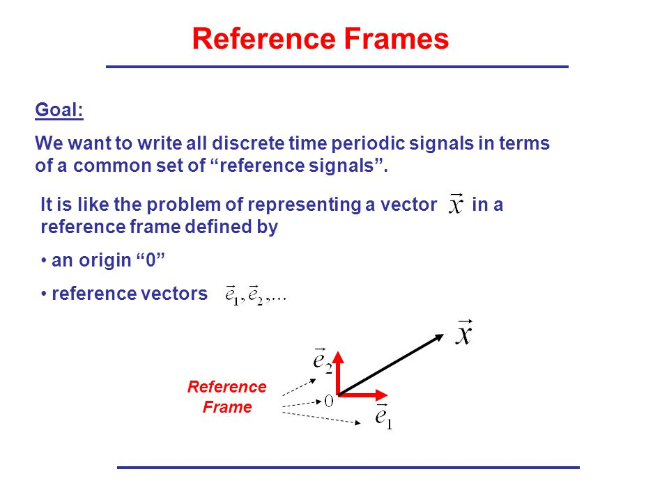 Reference Frame Definition - Frame Design & Reviews ✓