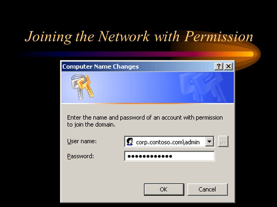 Joining the Network with Permission