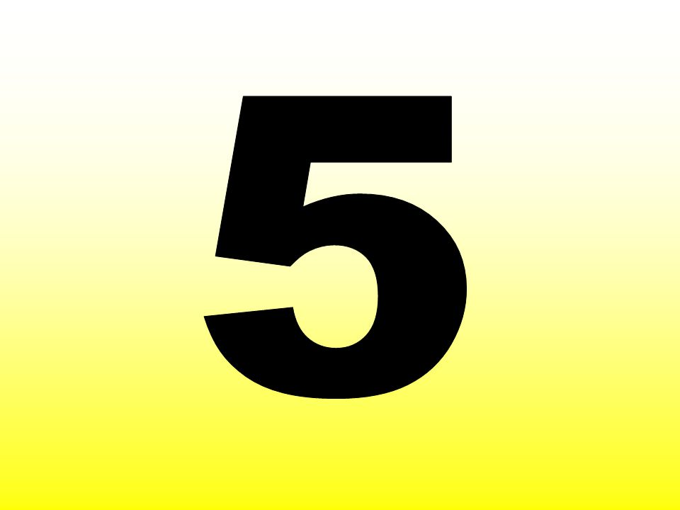 5 X 1