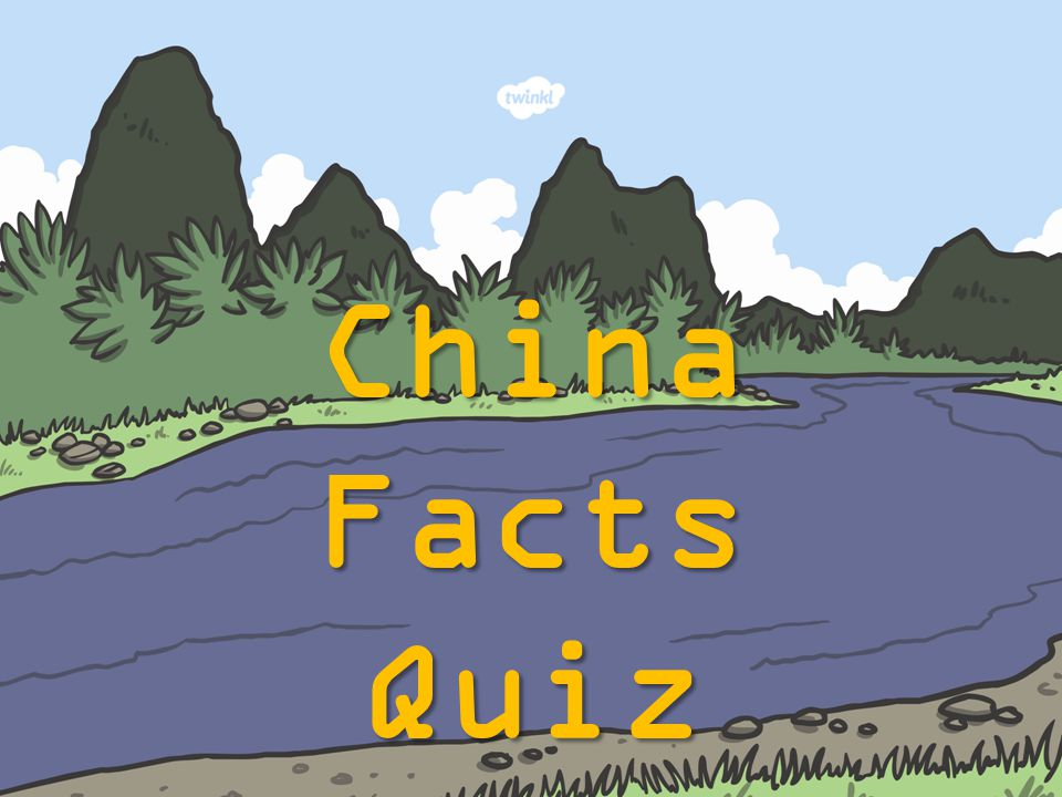 What is china famous for?