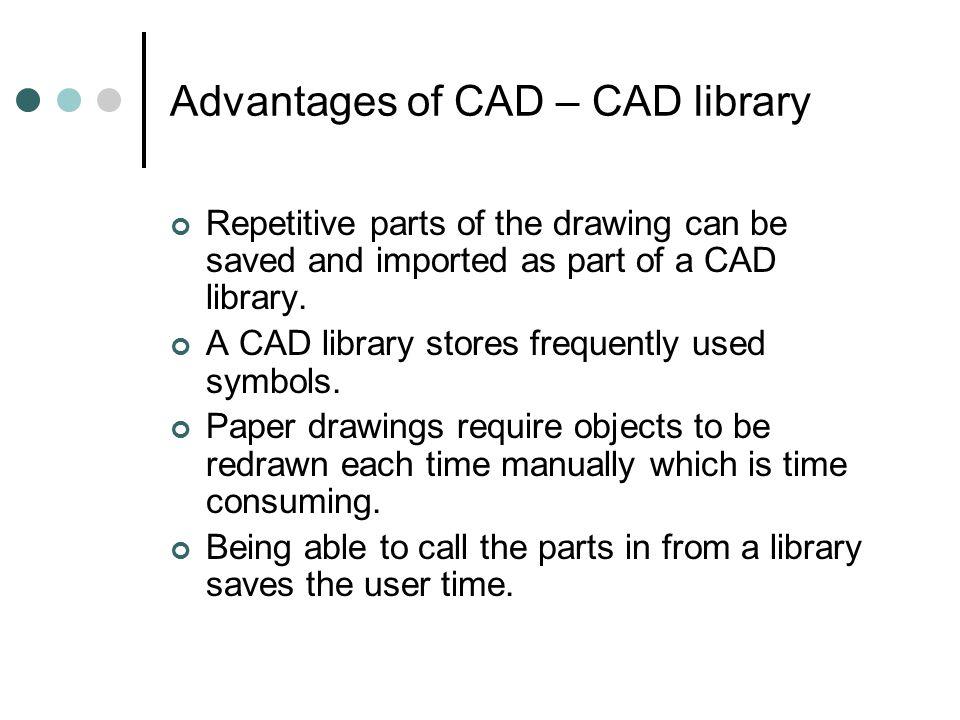 cad advantages