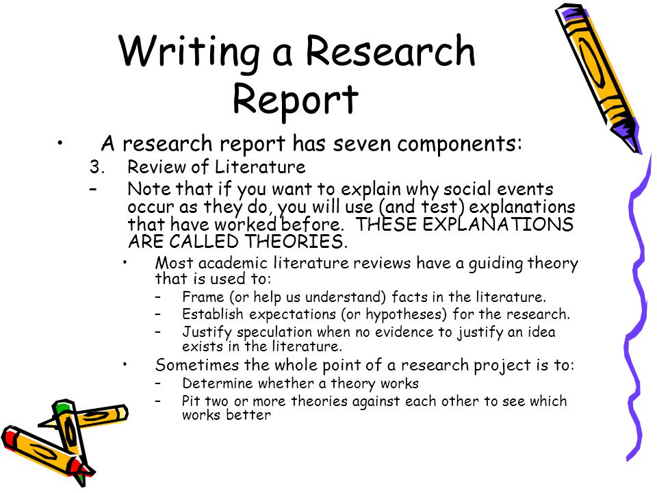 term paper literature review CLAS Users   University of Florida