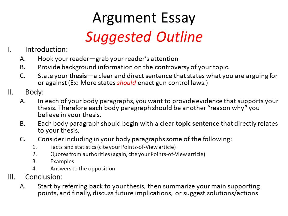 Argumentative Essay Topics Technology