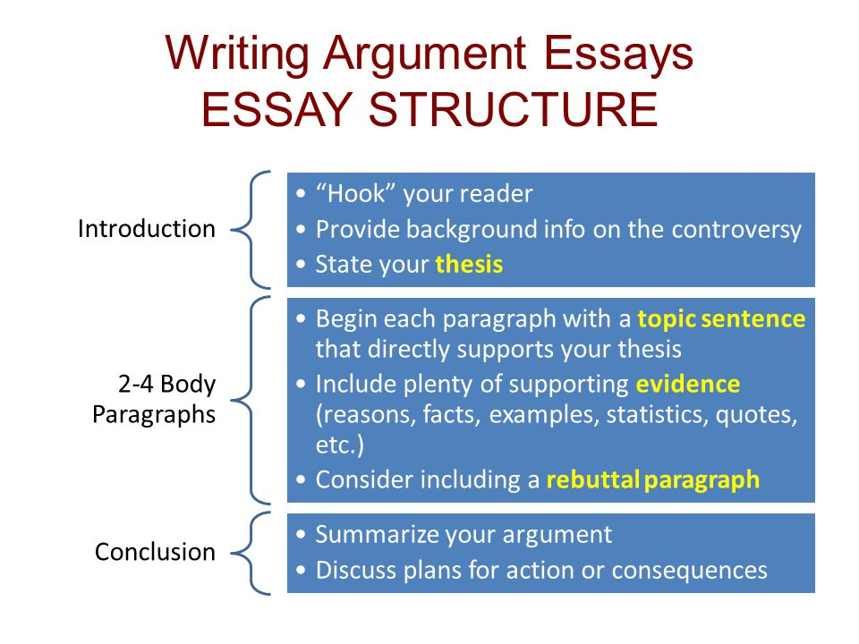 How to properly write a persuasive essay