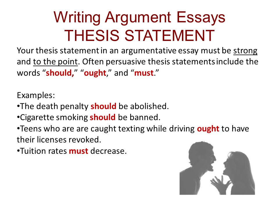 Technical Report Writing Today Examples Of Argumentative Thesis  Cover Letter Thesis Example Essay Thesispersuasive Essay Thesis Examples  Medium Size Xinuos