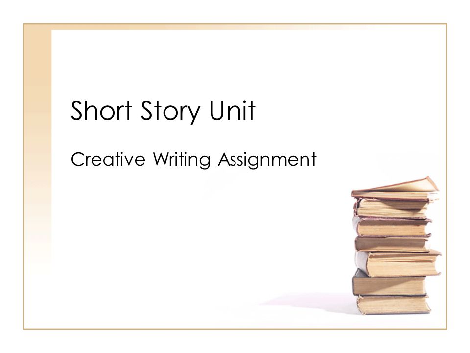 lesson plans creative writing short story
